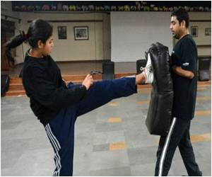 Women Turning to Self-Defense in New Delhi