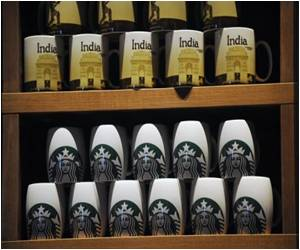 First Starbucks Cafe in India