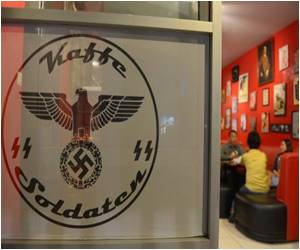 Global Outrage Over Nazi-themed Cafe With Blood-red Wall in Indonesia