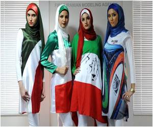 Fashion Show Organizer Banned for Dresses With National Flag Designs