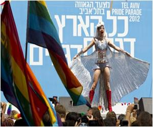 Thousands Throng For Tel Aviv's Gay Pride Parade