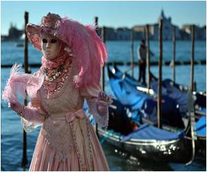 Carnival of Venice Launched by 'Flight Of The Angel'