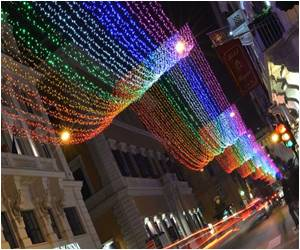Outrage in Rome Over 'Gay' Christmas Lights
