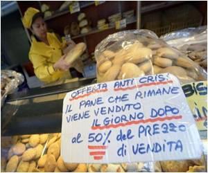 As Crisis Hits Romans Cut Down on Bread