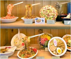 Plastic Replicas Of Food Help Tourists in Japan Understand Menu in Restaurants