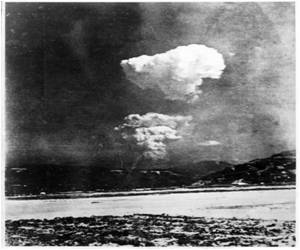 In Hiroshima, Rare Photo of A-bomb Split Cloud Found