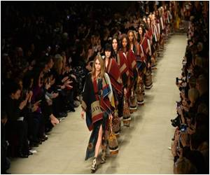 Hand-crafted Romantic Dress Collection from Burberry, London
