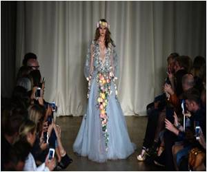 London Fashion Week: Floral Silks at Marchesa, Diamonds at Julian Macdonald