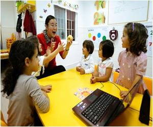 For Job Hopes Toddlers Learn Chinese In Spain