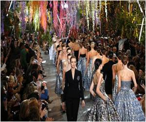 Tropical Hanging Garden is the Backdrop for Dior 'flower Women'