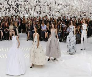 Paris Fashion Wraps Up With Feathery Extravaganza
