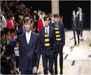 Dior Homme Designer Celebrates Updated Classics at Paris Fashion
