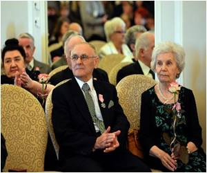 A Medal for 50 Years of Survival in Marriage in Poland