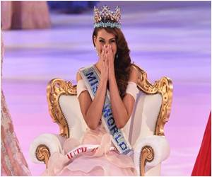 Miss World 2014 Crown Adorns 'Miss South Africa' Rolene Strauss