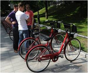 Bike-sharing Service Launched In Russian Capital