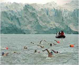 Patagonia: Ice-Swimming Grannies Defy Age and Cold