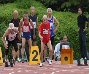 103-Year-Old Japanese Man Challenges World's Fastest Man
