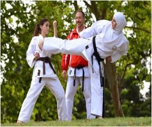 Ninjas Gather in Japan to Train Women in Self Defence