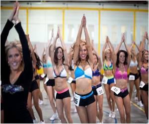 NFL Season: Cheerleaders Spring to Life
