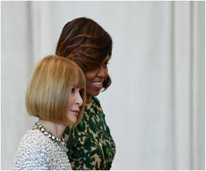 Michelle Obama Opens Anna Wintour Costume Center