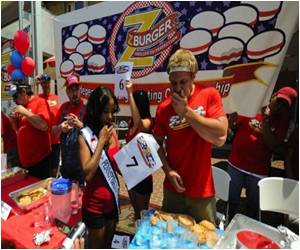 Hamburger Title Retained By Competitive Eater from Canada