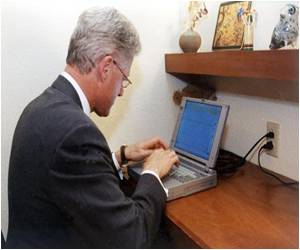 Clinton-to-Space Laptop Up for Auction