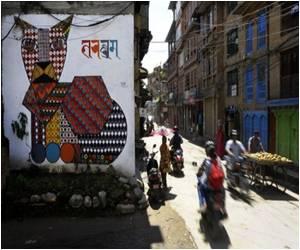 Kathmandu's Murals Highlight a Social Cause