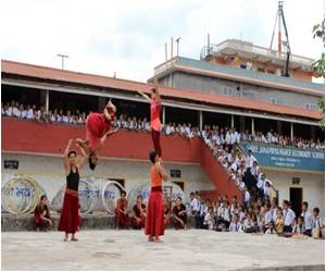New Life in Circus Found By Rescued Nepalis