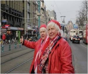 Red-Light Life Celebrated by Dutch Granny Prostitutes