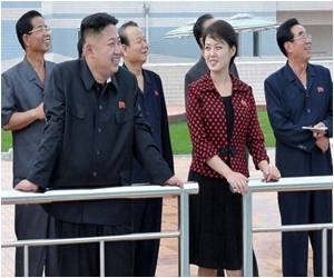 Polka-dot Dresses in High Demand in N. Korea
