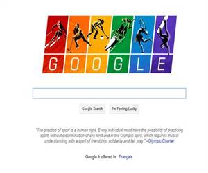 Google Marked Winter Games in Sochi by Flying Gay Flag in Doodle