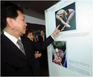Olympic Photo Exhibition Opened in Taiwan