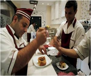 Deaf Given a Chance to Shine By Gaza Restaurant