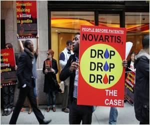 NGOs Protest Against Novartis' Glivec Lawsuit in India