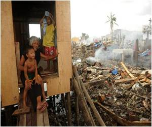 Survivors of Philippines Typhoon Extremely Hopeful and Positive