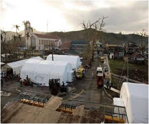 Inflatable Hospital Helps Typhoon Effort in Philippines