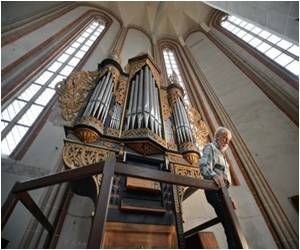 Resounding Music from Church Organs Thanks to Swiss Woman Restorer