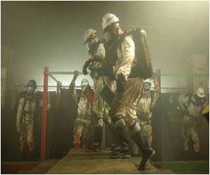 South African Squad of the Mines Rescue Services Risks All to Save Lives