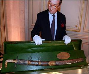 Rare Saudi Sabre Sells for $1 Mn at French Auction