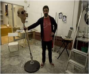 Spanish Artist Creates Franco Punching Ball