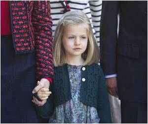 Life of Spain's Eight-Year-Old Queen-To-Be