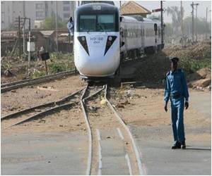 Sleek New Nile Train in Sudan is a Rarity