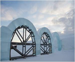 Sweden Ice Hotel is a Work of Art