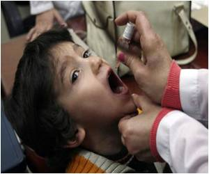Vaccination Drive Against Polio in Syria by UN