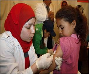 Syrian Opposition Halts Measles Vaccinations