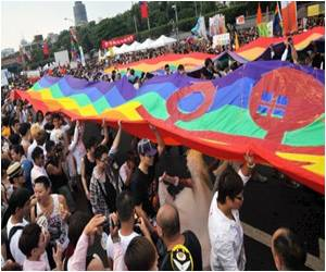 First Public Transgender Marriage in Taiwan