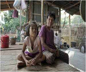 Village Children Stunted by Poverty as Parents Work to Make a Living in Bangkok