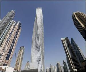 World's Tallest 'Twisted' Tower Inaugurated