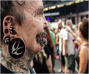 Dubai Bans World's Most Pierced Man