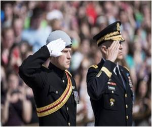 US War Dead Paid A Tribute By Prince Harry